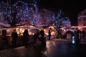 Christmas market in Wejherowo